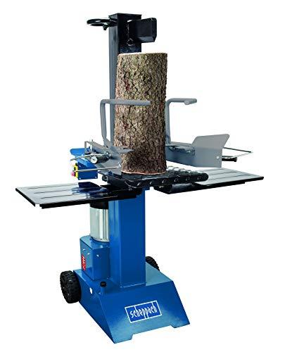 Scheppach 8 T Holzspalter HL805 400V 3000W Brennholzspalter Hydraulikspalter