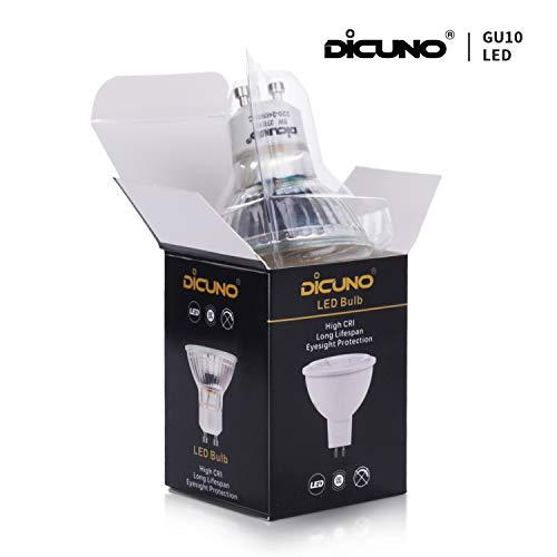 DiCUNO UK-220V-GU10-24-GLS-NW-6P