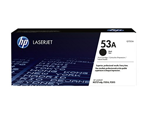 HP 53A (Q7553A) Schwarz Original Toner für HP Laserjet P2014, P2015, P2015dn, P2015n, P2015x, M2727nf, M2727nfs