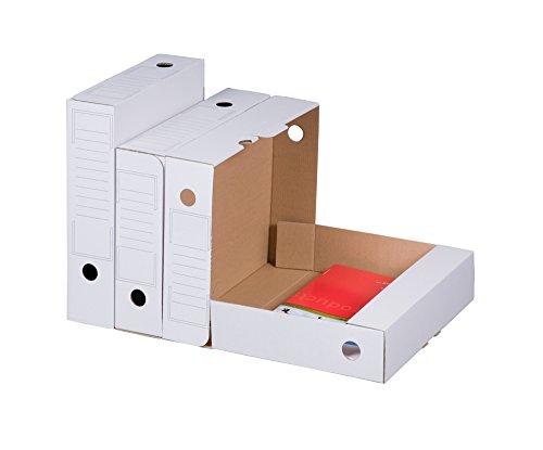 Smartbox Pro Archiv-Ablagebox Bianco, 20er Pack, weiß