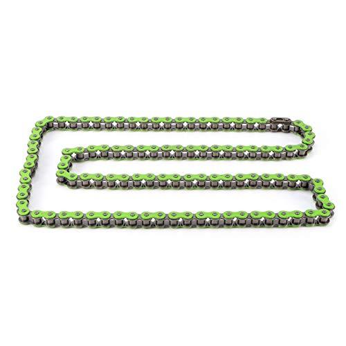 Robuste Korrosionsschutz-Verbindungskette Verschleißfest Langlebig für Motorräder(B (green))