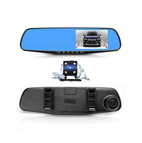 LW Rétroviseurs HD Dual Dash Cams avec 4,3\