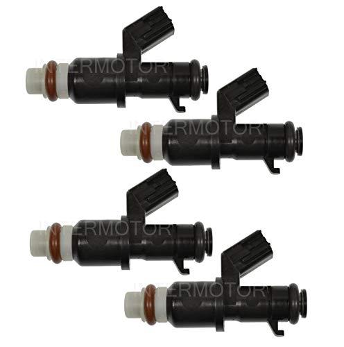 NEW Set of 4 Standard MFI Fuel Injectors for Honda CR-V Crosstour 2.4L L4 Gas