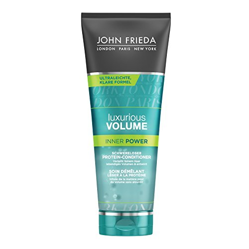 John Frieda Luxurious Volume Inner Power Schwereloser Protein-Conditioner, 1er Pack (1 x 250 ml)