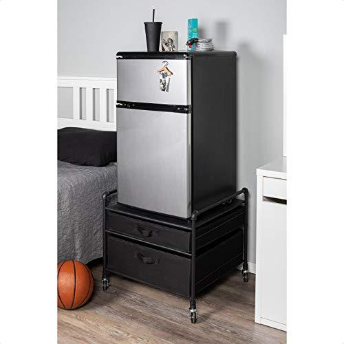 Gomes Fridge Stand Supreme 2 Drawer Storage Chest