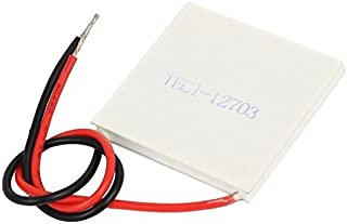 Karcy High Power Model TEC1-12703 Semiconductor Refrigeration Piece Heatsink Thermoelectric Cooler 12V 12A