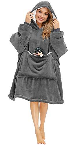 blanket hoodie oversized wearable blanket