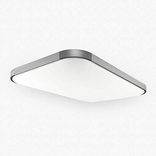 Stylehome® 27W LED Deckenlampe Wandlampe von 5501/5503 dimmbar/nicht dimmbar mit/ohneFernbedienung (5501 Silber 27W Ohne Fernbeidnung)