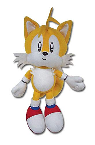 GE Animation Sonic The Hedgehog - Tails Plush 7