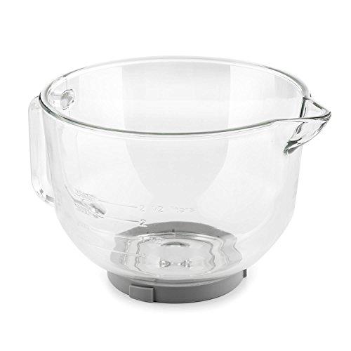 Klarstein Bella Glass Bowl, Accessories for Bella 2G Stand Mixer
