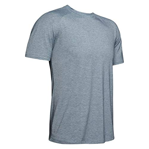 Under Armour Athlete Recovery Travel T-shirt Homme, Gris FR : XL (Taille Fabricant : XL)