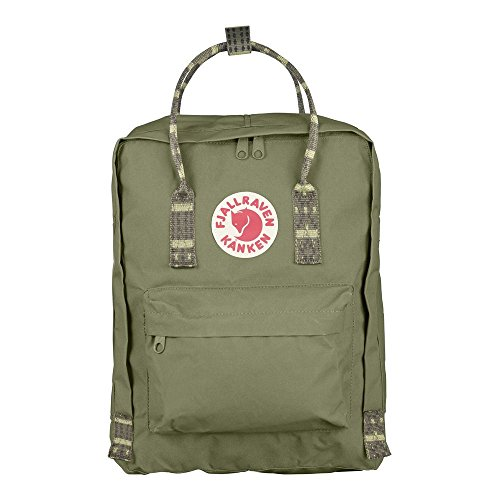 Fjällräven Kånken Green/Folk Pattern One Size