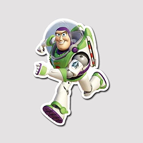 Toy Story Pegatinas Equipaje Pegatinas Buzz Lightyear Pegatinas Personalizadas Portátil Impermeable Pegatinas Tamaño del Producto Puede ser Personalizado