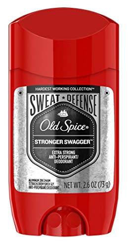Old Spice Anti-Perspirant 2.6 Ounce Stronger Swagger (76ml) (2 Pack)