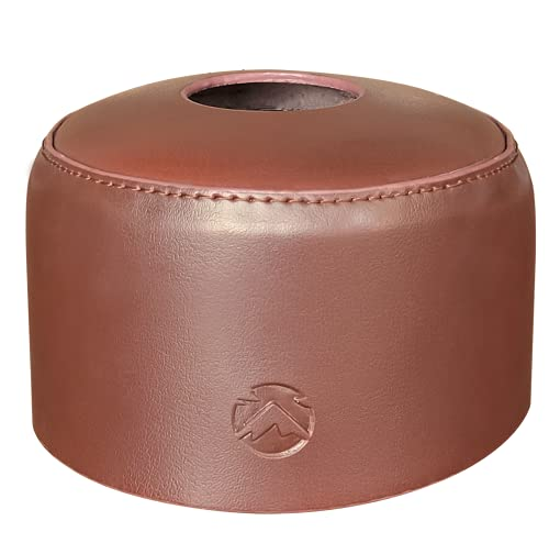キャンピングムーン(CAMPING MOON) コールマン230g用 OD缶レザーキャップ OD缶カバー 250サイズ(220g 230g用) 本革 ブラウン BC-230