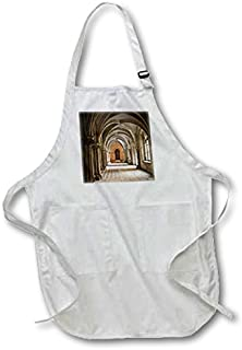 3dRose Thurn und Taxis Palace Regensburg, Germany-Eu10 Mde0114-Michael Defreitas-Full Length Apron, Black, with Pockets (apr_137168_4), 22 by 30
