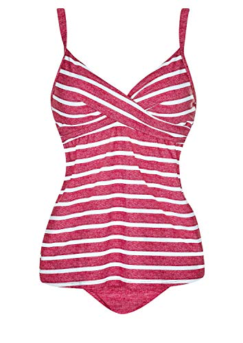 Olympia Tankini Red Bliss Cup C, Farbe rot, Größe 46