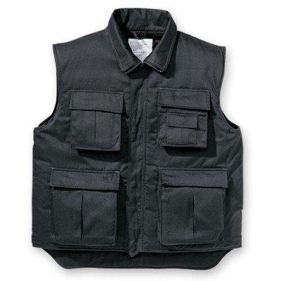 T s & ranger veste sans manches matelassée noir/allround taille : taille s à 5XL (44/46