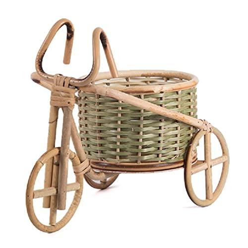 6Wcveuebuc Mini-Dreirad Rattan...