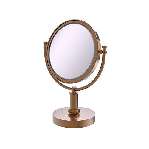 Allied DM-4T/2X Miroir de Maquillage grossissant 2X Bronze brossé