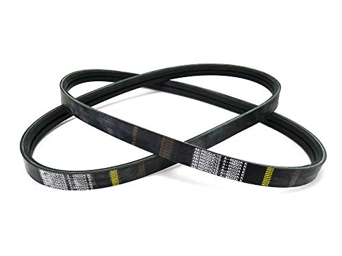 (2) OEM Spec Drive Belts Scag 48202A fits Commercial Walk Behind Mowers 48202