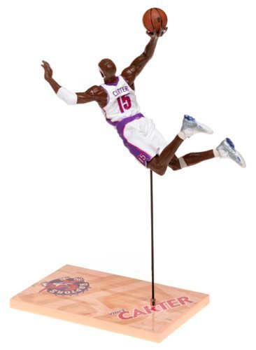 McFarlane Toys NBA Sports Picks Series 1 Action Figure Vince Carter (Toronto Raptors) White Jersey by McFarlane Toys