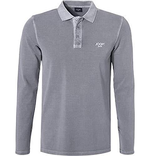 Joop! Herren Polo-Shirt Baumwoll-Piqué T-Shirt Grau M