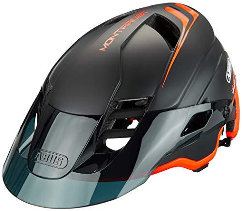 ABUS Unisex-Erwachsene MONTRAILER Mountainbike-Helm, shrimp orange, M