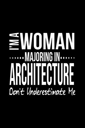 Unique Architecture Major Gif For Women Architect Tee Notebook: Journal, Lined Notebook, 120 Blank Pages, Journal, 6x9 Inches, Matte Finish Cover