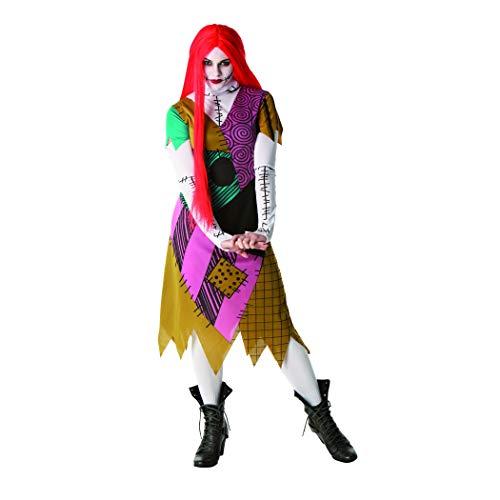Rubies Officielle pour Femme Sally Nightmare Before Christmas, déguisement Adulte – Medium