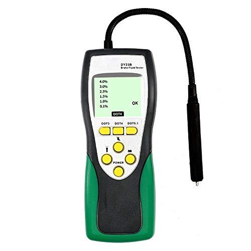 L.W.SURL Tester del Liquido dei Freni for autoveicoli Controllo ispezione del Liquido dei Freni Digitale Controllo indicatore di qualità dell'olio for Auto e Freni DY23