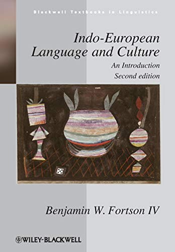 Indo-European Language and Culture: An Introduction