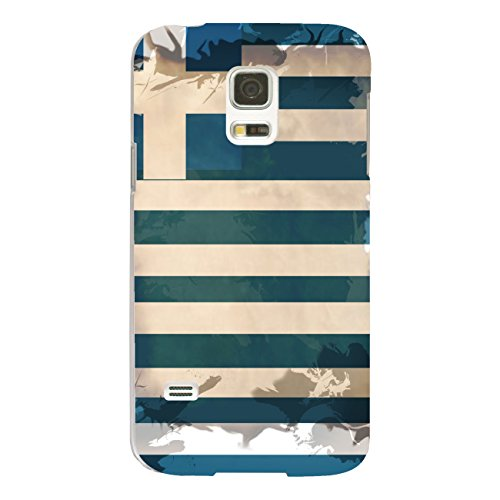 DISAGU Design Case Custodia Protettiva per Samsung Galaxy S5Mini Custodia Cover–Motivo Grecia