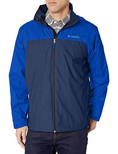 Columbia Men's Big-Tall Glennaker Lake Big & Tall Lined Rain Jacket Outerwear, -collegiate navy, azul, 4X