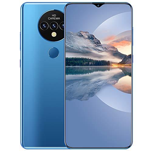 LINGZE Smartphone de Pantalla Completa HD de 7.0', teléfonos móviles con...