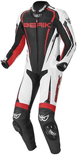 Berik Race-X Tuta in moto un pezzo 50 Nero/Bianco/Rosso
