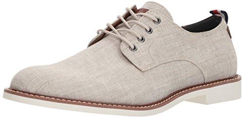 Tommy Hilfiger Men's GARSON3 Shoe, Light Natural Fabric, 10.5 Medium US