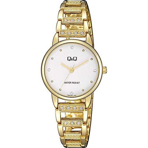 Q&Q Reloj de mujer moda F635J001Y estándar analógico movimiento de cuarzo japonés