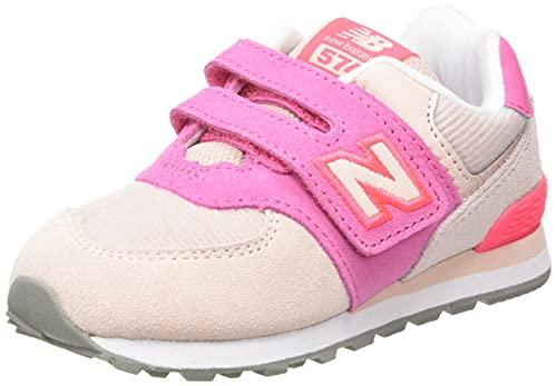 New Balance IV574V1, Scarpe da Ginnastica Bambina, Oyster Pink, 26.5 EU