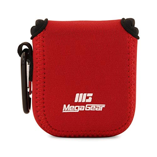 MegaGear MG1875 Ultra Light Neoprene Camera Case Compatible with GoPro Max - Red