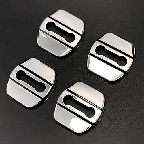 Cubierta Cerradura Puerta Coche Acero Inoxidable,para Nissan Qashqai J11 X-Trail T30 T31 T32 All Models Negro