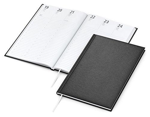 Geiger-Notes - Buchkalender Prestige 2021 | A5 mit Balacron-Einband schwarz, 128 Seiten