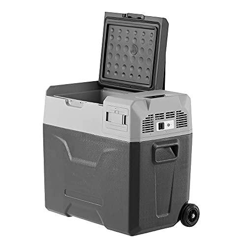 YINGGEXU Mini refrigerador 30L 40L 50L refrigerador portátil del coche especial refrigerador de viaje con batería incorporada (Nombre del color: 50L)