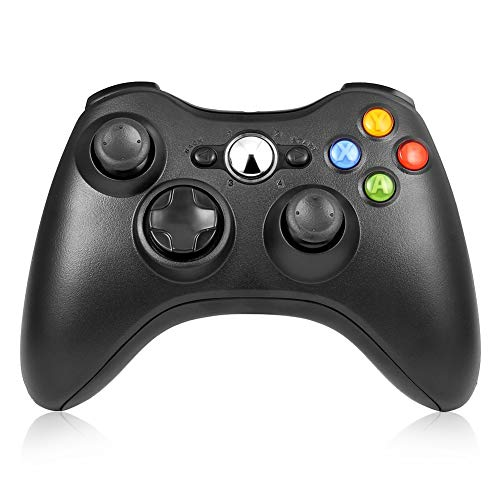 Wireless Controller for Microsoft Xbox 360 and Windows PC with Dual Vibration $17.99 (40% OFF)
