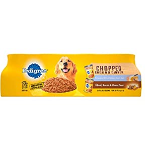 PEDIGREE CHOPPED GROUND DINNER Adult Canned Wet Dog Food Variety Pack