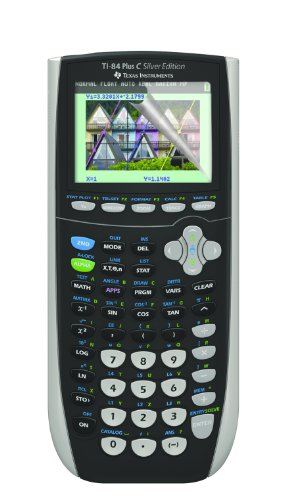 Guerrilla Military Grade Screen Protector 2- PackFor Texas Instruments TI 84 Plus C Silver Edition Color Graphing Calculator Photo #2