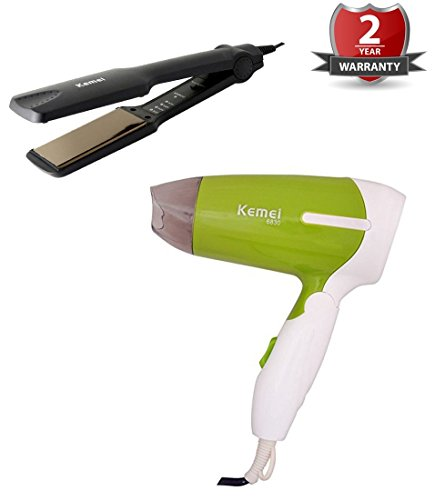 kemei Combo Pack 2 In 1 Hair Beauty Set hair dryer And...
