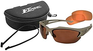 Acid Gambit 2 Lens Kit Matte Desert Sand Frame/Polarized Copper, Tiger's Eye Vapor Shield Lenses