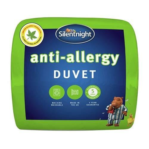 Silentnight Anti-Allergy Duvet, 13,5 Tog, Single, Anti-Bacterial Quilt