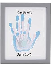 Pearhead Babyprints Newborn Baby Handprint and Footprint Photo Frame Kit